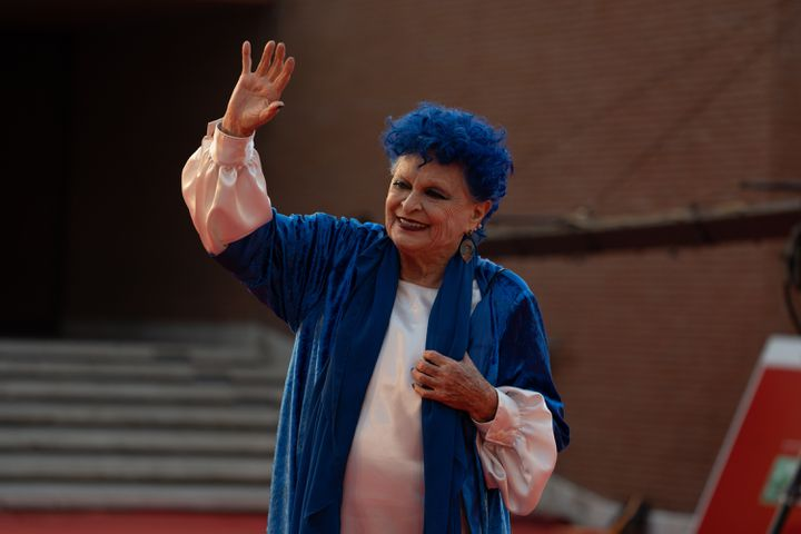 Lucia Bosè au festival de cinéma de Rome en octobre 2019. (LUCA CARLINO / NURPHOTO)