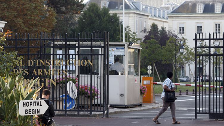 (L'agent de l'Unicef a été hospitalisé ici, à Bégin ©  REUTERS/Charles Platiau)