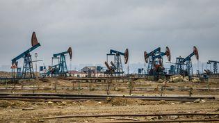Des puits de pétrole en Azerbaïdjan. Photo d'illustration. (AFP)