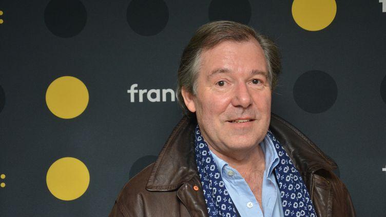 Jérôme Garcin,producteur et animateur de l'émission Le Masque et la Plume sur France Inter. (RADIO FRANCE / JEAN-CHRISTOPHE BOURDILLAT)