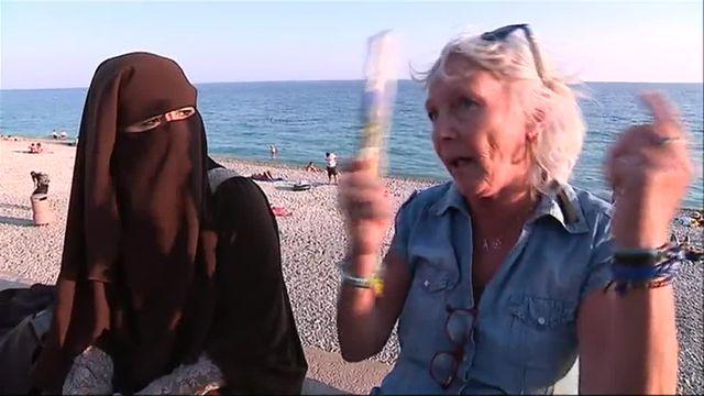Nice : comment une femme en niqab et une touriste en colère en sont venues à dialoguer