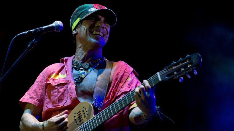 Manu Chao, Montevideo Uruguay, novembre 2012  (Pablo Porciuncula PORCIUNCULA / AFP)