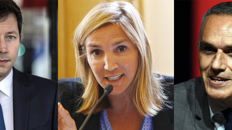 François-Xavier Bellamy, Agnès Evren et Arnaud Danjean ont été désignés pour conduire la liste Les Républicains pour les élections européennes de mai 2019. (CHRISTOPHE ARCHAMBAULT / AFP; PATRICK KOVARIK / AFP; PHOTOPQR/L'EST REPUBLICAIN/MAXPPP)