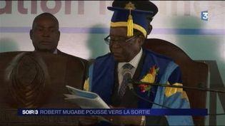 Robert Mugabe refuse de quitter le pouvoir. (FRANCE 3)