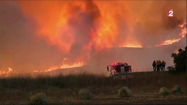 Californie : l'État ravagé par des incendies