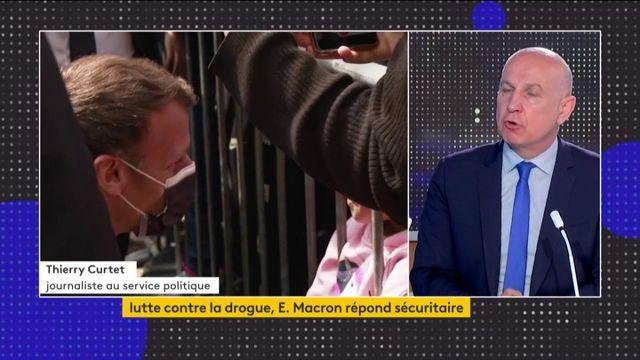 Présidentielle 2022 : Emmanuel Macron fixe sa ligne en matière de sécurité