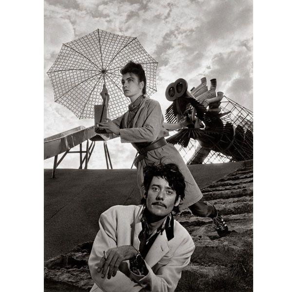 Robert Doisneau, Les Rita Mitsouko, 13 octobre 1988, Parc de la Villette  (Atelier Robert Doisneau)