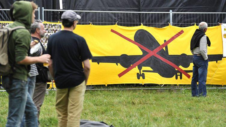 (Rassemblement des opposants à l'aéroport de Notre Dame des Landes à Bellevue © Maxppp)