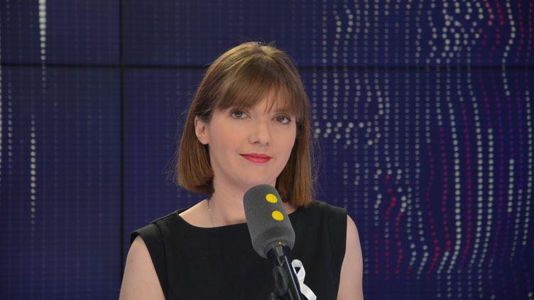 Aurore Bergé députée LREM. (JEAN-CHRISTOPHE BOURDILLAT / RADIO FRANCE)