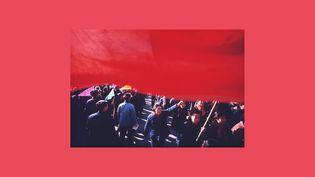 """Marc Riboud, """"Manifestation de soutien au Vietnam"""", Pékin, Chine, 1965 (© Marc Riboud / Fonds Marc Riboud au MNAAG)"""