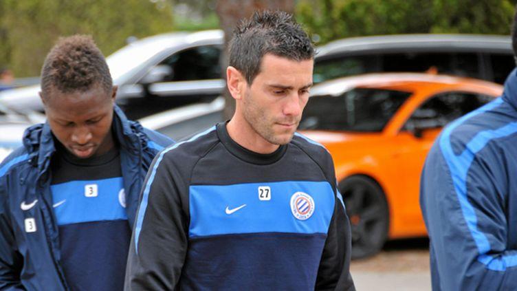 Cyril Jeunechamp a écopé d'un an de suspension