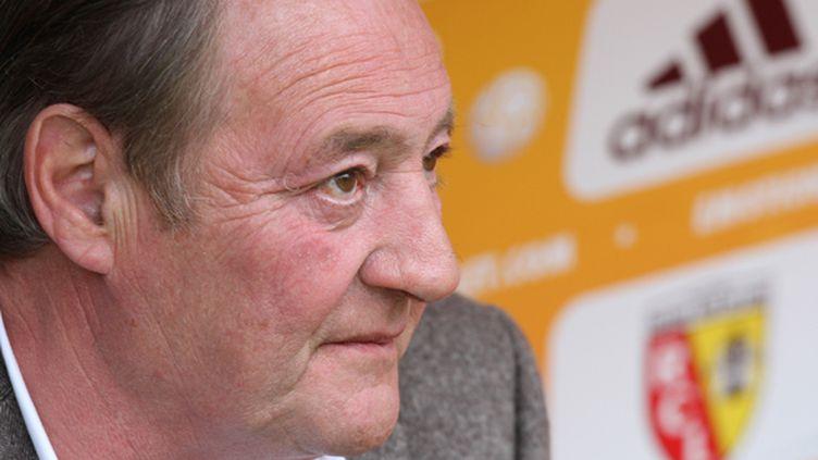 Gervais Martel, le président du RC Lens (EDDY LEMAISTRE / DPPI MEDIA)