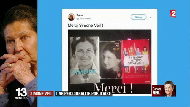 Simone Veil : une personnalité populaire