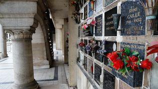Des urnes au cimetière parisien du Père Lachaise, le 7 juin 2020. (FRANCOIS GUILLOT / AFP)