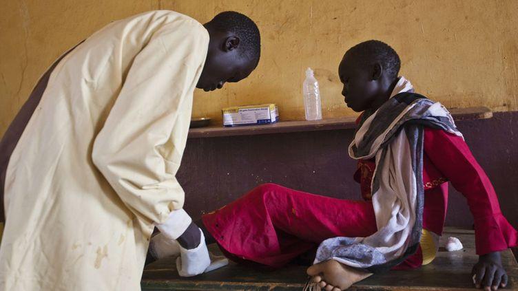 A l'hôpital public d'Aweil, près de Bahr el Ghazal (nord du Soudan du Sud), le 2 juin 2012 (REUTERS/Adriane Ohanesian )