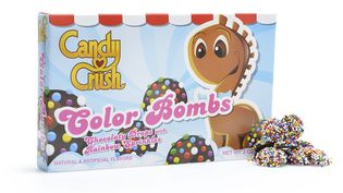 "Les bonbons ""Color Bombs"" tirés du jeu Candy Crush. (DYLAN'S CANDY BAR / FRANCETV INFO)"
