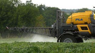 Epandage d'herbicide en Argentine, février 2018 (PABLO AHARONIAN / AFP)