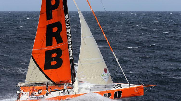 Vincent Riou (PRB) sur le Vendée Globe