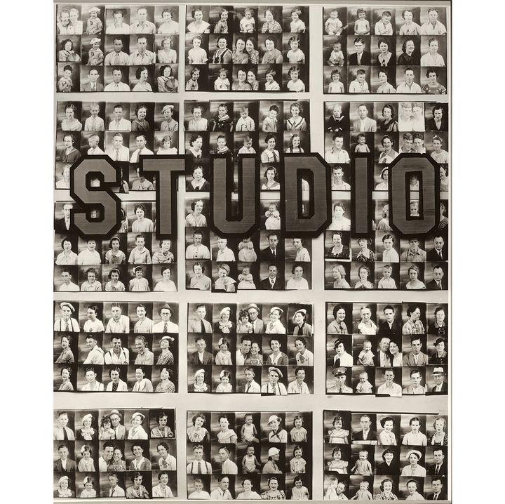 """Walker Evans, """"Penny Picture Display, Savannah"""", 1936, Museum of Modern Art, New York, Gift of Willard Van Dyke  (Walker Evans Archive, The Metropolitan Museum of Art Photo: © 2016. Digital Image, The Museum of Modern Art, New York / Scala, Florence)"""