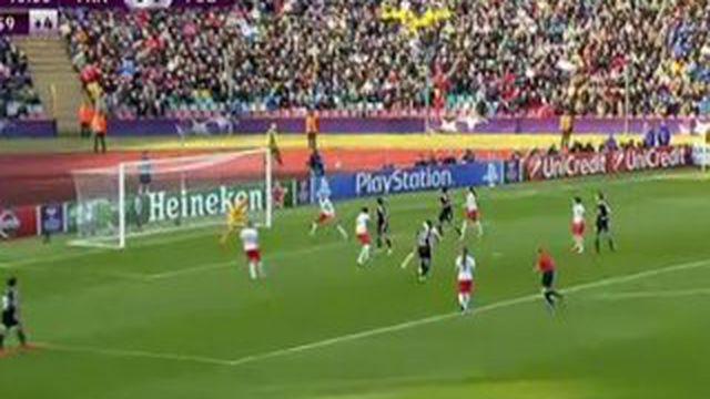 Francfort-PSG Ligue des champions féminine : but de la victoire de l'Allemande Mandy Islacker