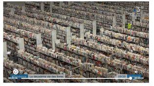 Vue de l'entreprise RecycLivre, novembre 2020. (FRANCE TELEVISIONS)