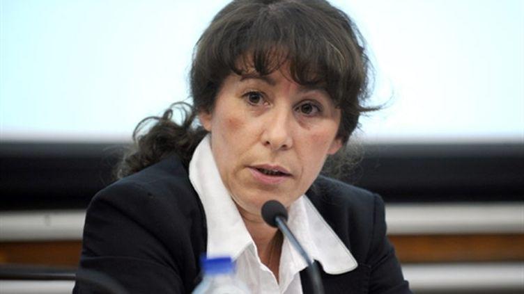 Fadela Amara, le secrétaire d'Etat à la Ville, le 7 octobre 2009. (AFP - Fred Dufour)
