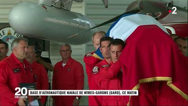 Gard : un dernier hommage rendu au pilote décédé dans l'exercice de ses fonctions
