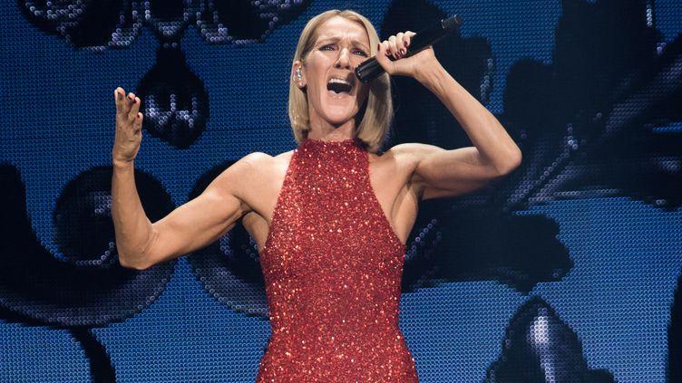 Céline Dion à Québec, le 18 septembre 2019. (ALICE CHICHE / AFP)