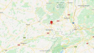 Belfortdans le nord-est de la région Bourgogne-Franche-Comté. (GOOGLE MAPS)