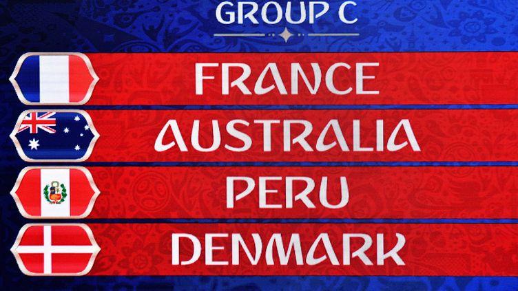 Le groupe C du Mondial 2018 avec la France