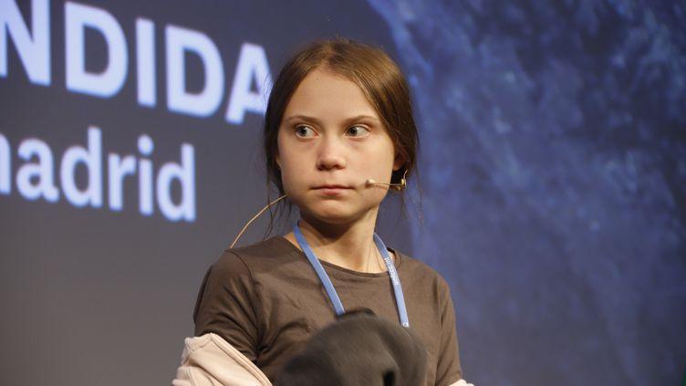 Greta Thunberg à la COP25 à Madrid, en Espagne, le 6 décembre 2019. (CLARA MARGAIS / DPA)