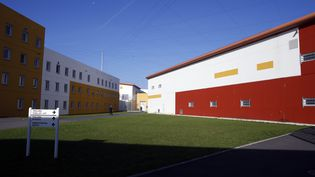 Le centre pénitentiaire de Réau (Seine-et-Marne), le 24 septembre 2013. Redoine Faïd s'en est évadé le 1er juillet 2018. (THOMAS SAMSON / AFP)