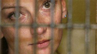 Florence Cassez, alors emprisonnée à Mexico (Mexique), le 9 décembre 2005. (REUTERS)