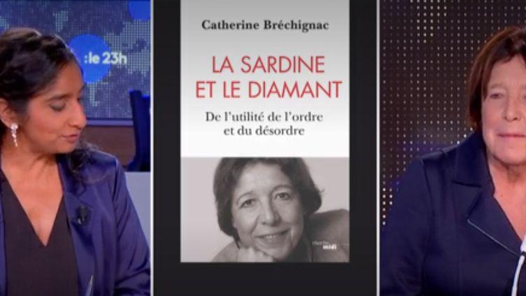 La physicienne,Catherine Bréchignac. (FRANCEINFO)