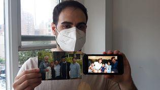 Sam Weinberg a perdu son père le 11 septembre 2021. Ce dernier travaillait dans la tour Nord du World Trade Center, la deuxième à être ciblée par les terroristes. (FRANCEINFO / RADIO FRANCE)