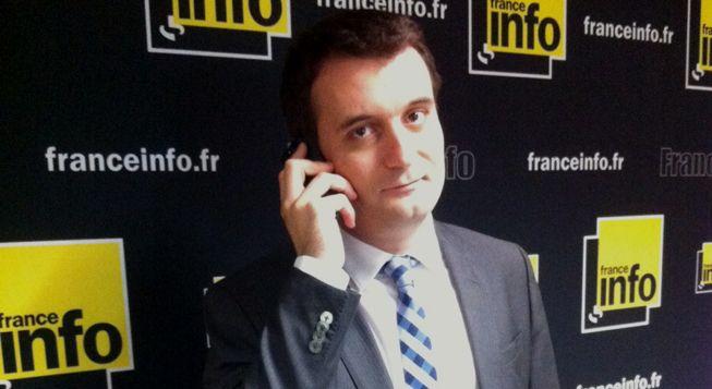 (Le FN Florian Philippot © Radio France - Laetitia Heuveline)