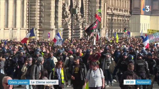 """""""Gilets jaunes"""" : 15e samedi de mobilisation dans toute la France"""