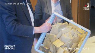 Le vote de trop ? (ENVOYÉ SPÉCIAL  / FRANCE 2)