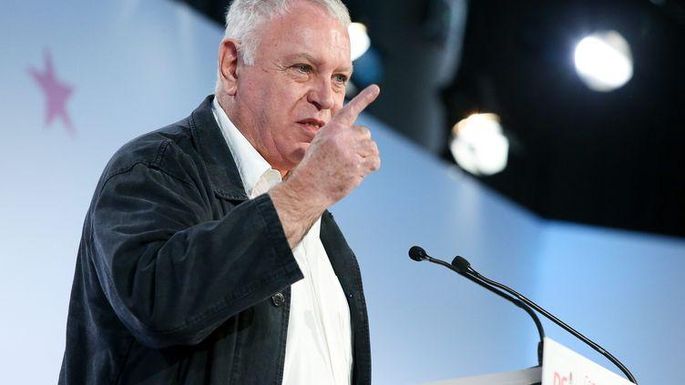 Le socialiste Gérard Filoche lors d'une convention du PS à Paris, le 16 juin 2013. (MAXPPP)