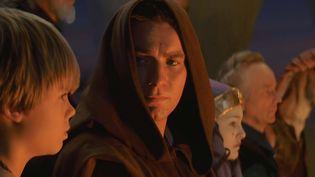 Anakin Skywalker et Obi-Wan Kenobi dans Star Wars, La Menace Fantôme. (TWENTIETH CENTURY FOX)