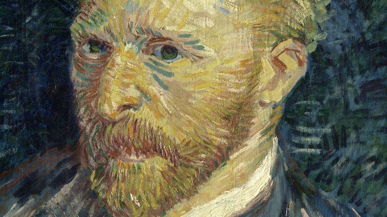 Vincent Van Gogh (1853- 1890) Portrait de l'artiste, 1887 Huile sur toile, 44 × 35,5 cm Donation sous réserve d'usufruit de Jacques Laroche, 1947 Paris, musée d'Orsay, RF 1947 28   (Musée d'Orsay, dist. RMN-Grand Palais / Patrice Schmidt)