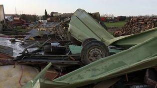 Vers 16 heures, le 10 février, un village de la Somme a été balayé par une puissante tornade. (France 3)