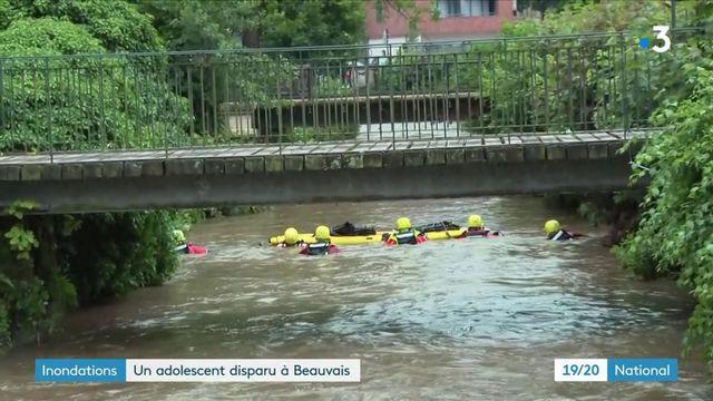 Inondations : un adolescent toujours disparu à Beauvais