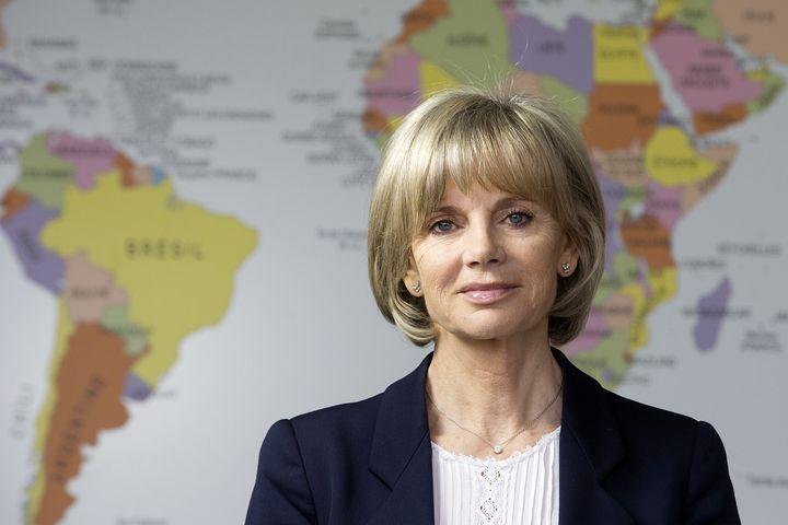 La présidente de la commission des affaires étrangères de l'Assemblée nationale, Elisabeth Guigou, le 12 février 2014 à Paris. (JOEL SAGET / AFP)