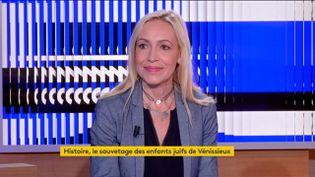 L'historienne Valérie Portheret (FRANCEINFO)