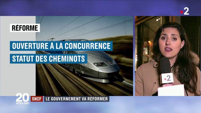 SNCF : le gouvernement va réformer