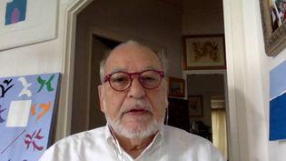 Tahar Ben Jelloun interviewé par Skype (France3 Paris-Île-de-France)