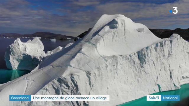 Groënland : un iceberg inquiète des habitants d'un village