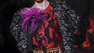 Défilé Dries van Noten printemps-été 2020 pendant la Paris Fashion Week, le 25 septembre 2019 (CHRISTOPHE ARCHAMBAULT / AFP)