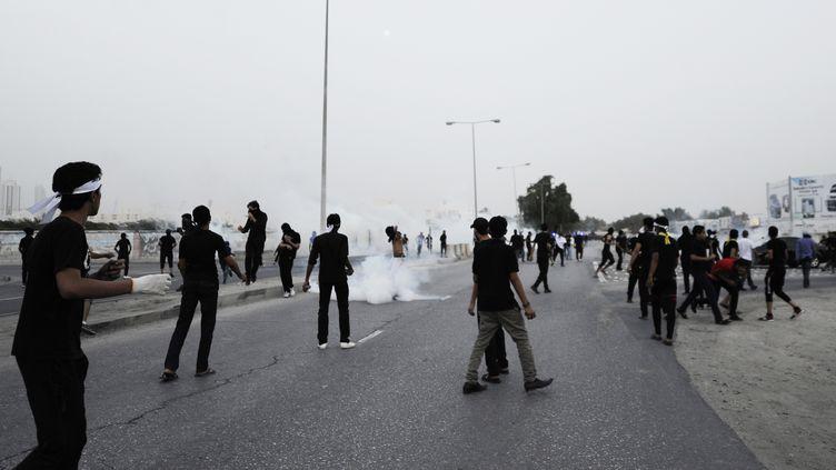 Une manifestation à Bahreïn, le mardi26 novembre 2012. ( REUTERS)